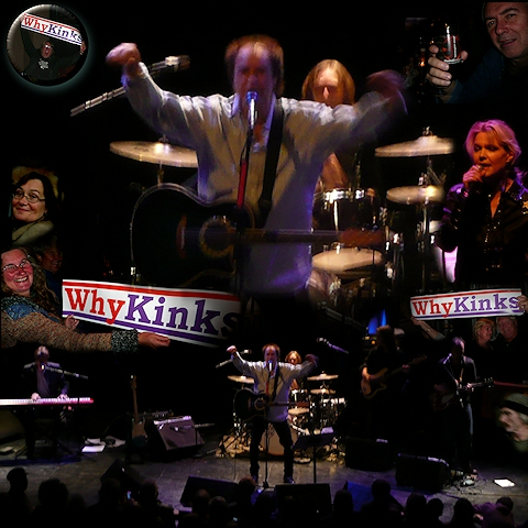 Ray with Band in Oslo, the one and only town in the world with the last The Kinks concert!!!!